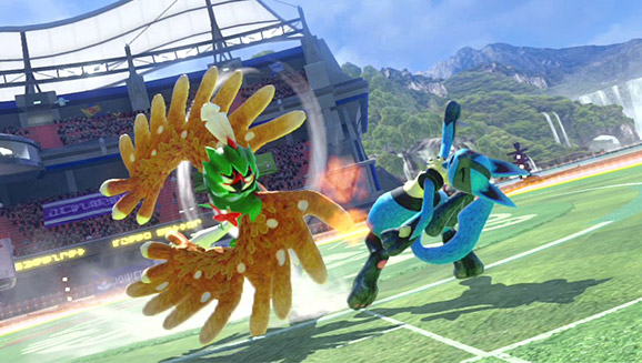 Image result for Pokkén Tournament DX