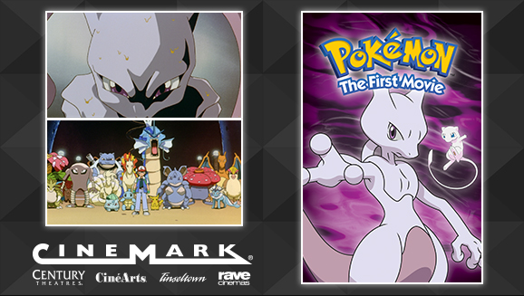 Watch <em>Pokémon: The First Movie</em> on the Big Screen