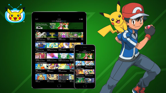 Download the Updated Pokémon TV App!