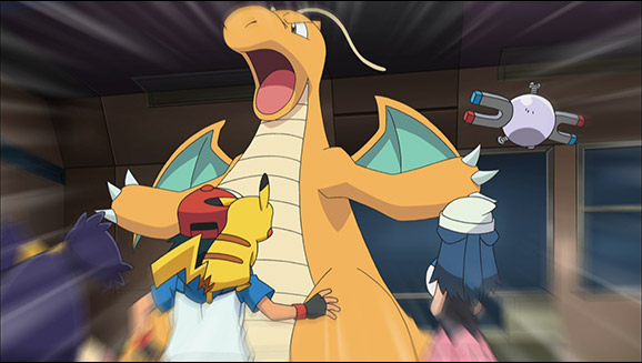 Iris and the Rogue Dragonite!