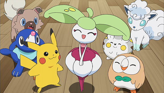 Pok mon the series sun moon - Pokemon saison 18 ...