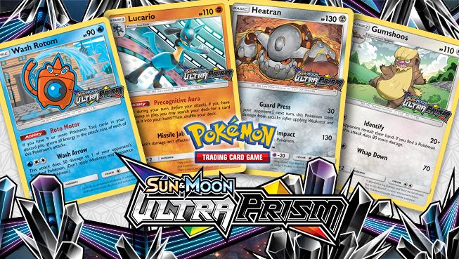 Pokémon Sun and Moon - Ultra Prism prerelease