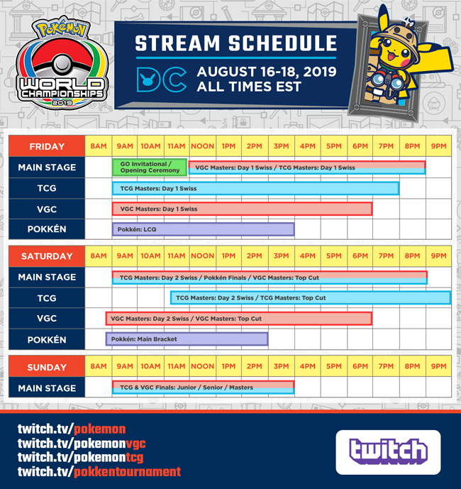 2019 Pokémon World Championships Stream | Pokemon com