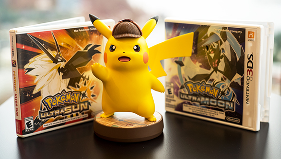 The Detective Pikachu Amiibo Is Huge Pokemon Com