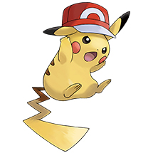 Get Pikachu Wearing Ash's Hats | Pokemon com
