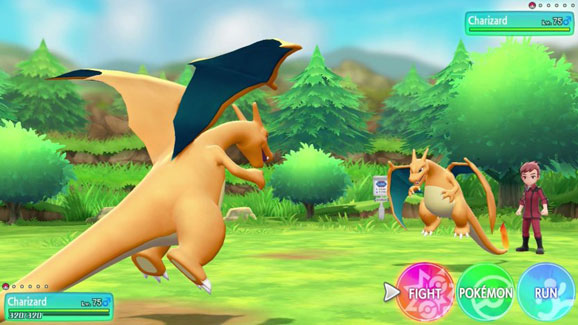 Pokémon: Let's Go, Pikachu! and Pokémon: Let's Go, Eevee