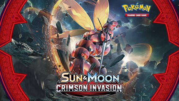 Pokémon TCG: <em>Sun & Moon—Crimson Invasion</em>
