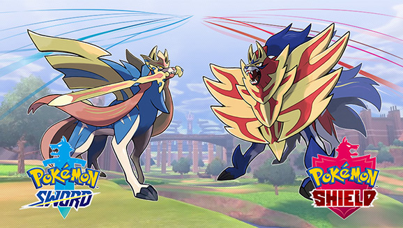 Pokémon Sword og Pokémon Shield fås i handelen nu!
