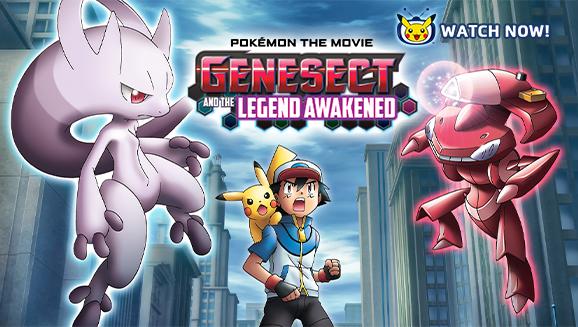 Pokémon Filmen: Genesect og legenden der blev vakt til live