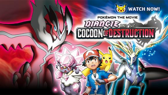 Pokémon Filmen: Diancie og tilintetgørelsens kokon