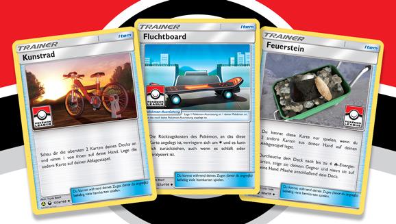 Spannende Kämpfe und coole Karten erwarten dich in Pokémon-Ligen
