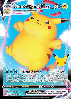 Surfendes Pikachu VMAX