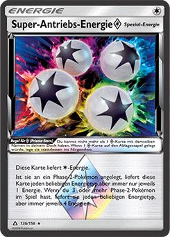 Super-Antriebs-Energie Prisma-Stern