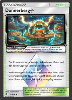 Donnerberg Prisma Stern