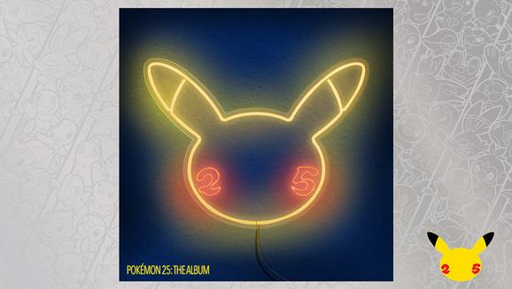 Spüre den Groove mit Pokémon 25: The Album – jetzt erhältlich