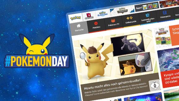 Ein weiteres großes Jahr für die offizielle Pokémon-Website!