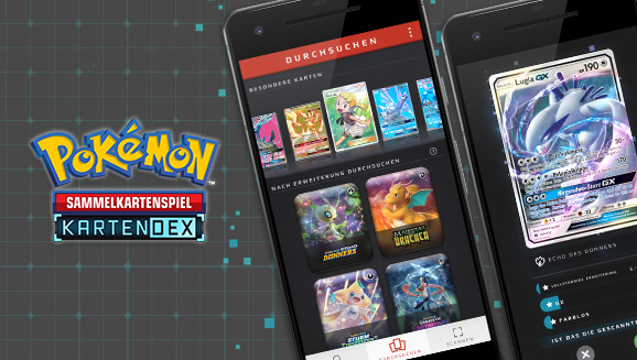 Pokémon-Sammelkartenspiel-App Pokémon Kartendex