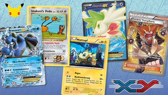 Oh là là! Pokémon-Sammelkartenspiel-Größen wählen ihre Lieblingskarten der Serie XY