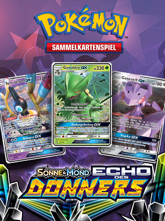 Lass es mit Pokémon-GX mächtig donnern!