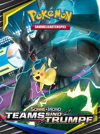 Mächtige Pokémon kämpfen im Pokémon-Sammelkartenspiel Seite an Seite!
