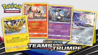 Probiere zusammen mit Freunden neue Karten bei einem Sonne & Mond – Teams sind Trumpf Prerelease-Turnier aus!