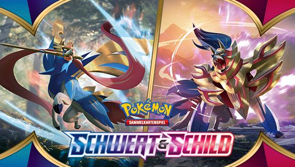 Kampfbereit mit der Pokémon-Sammelkartenspiel-Erweiterung Schwert & Schild