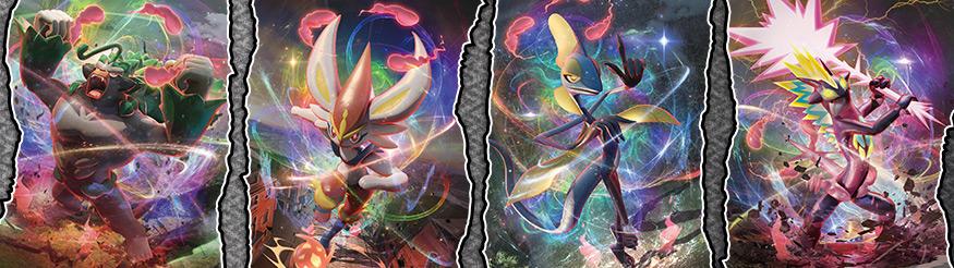 Pokémon-Sammelkartenspiel: Schwert & Schild – Clash der Rebellen