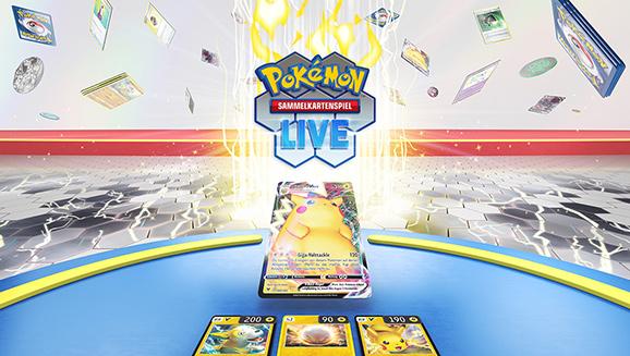 Ankündigung von Pokémon-Sammelkartenspiel-Live