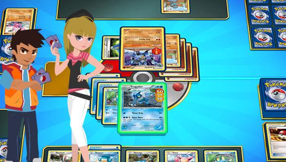Spiele das Pokémon Sammelkartenspiel Online!