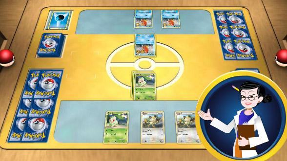 Lerne, wie man das Pokémon Sammelkartenspiel spielt!