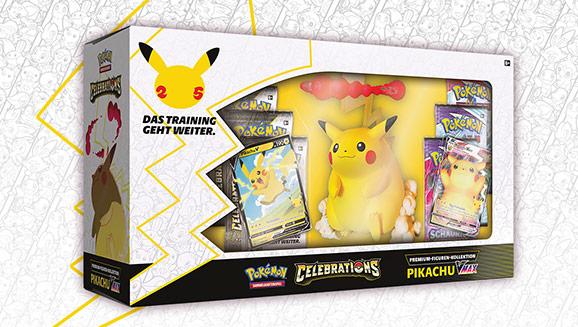 Premium-Figuren-Kollektion <em>Celebrations</em>: Pikachu-VMAX