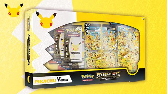 Spezial-Kollektion <em>Celebrations</em>: Pikachu-V&#8209;UNION