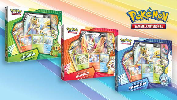 Pokémon der Galar-Region kommen ins Pokémon-Sammelkartenspiel