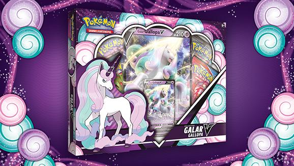 Entfessle psychische Power mit der Kollektion Galar-Gallopa-V des Pokémon-Sammelkartenspiels!