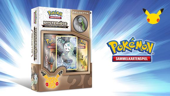 """""""Mysteriöse Pokémon-Kollektion: Meloetta"""" des Pokémon-Sammelkartenspiels"""