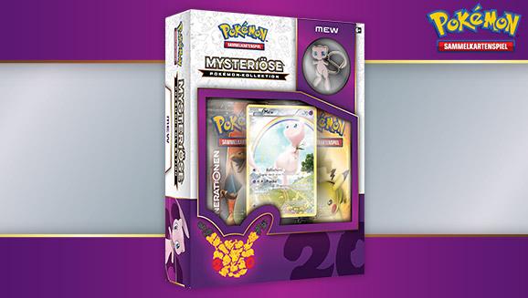 """""""Mysteriöse Pokémon-Kollektion: Mew"""" des Pokémon Sammelkartenspiels"""