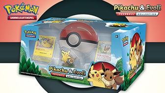 Pikachu und Evoli – Pokémon-Sammelkartenspiel-Freunde!