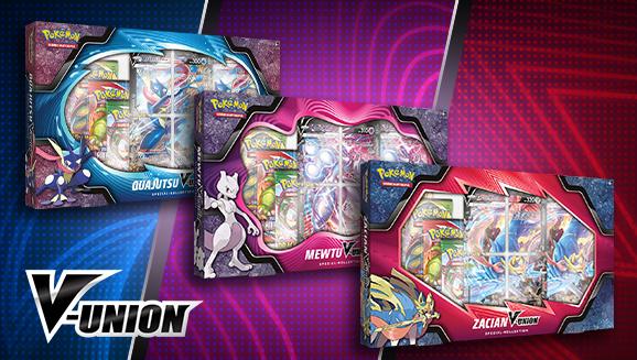 Mewtu, Quajutsu und Zacian erscheinen als Pokémon-V-UNION!