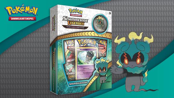 Pin-Kollektion Marshadow der Pokémon-Sammelkartenspiel-Erweiterung <em>Schimmernde Legenden</em>