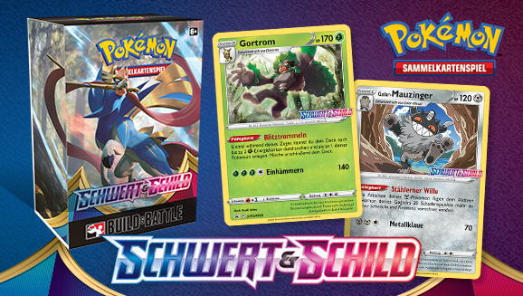 Auf in den Kampf mit der Pokémon-Sammelkartenspiel-Erweiterung Schwert & Schild
