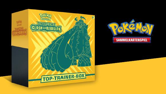 Top-Trainer-Box <em>Schwert & Schild – Clash der Rebellen</em>