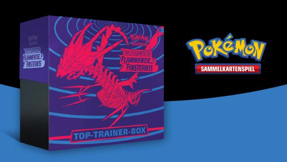 Top-Trainer-Box <em>Schwert & Schild – Flammende Finsternis</em>