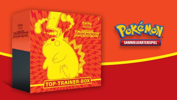 Top-Trainer-Box der Erweiterung <em>Schwert & Schild&nbsp;– Farbenschock</em>