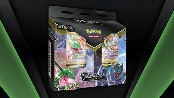 Rayquaza gegen UHaFnir im Pokémon-Sammelkartenspiel
