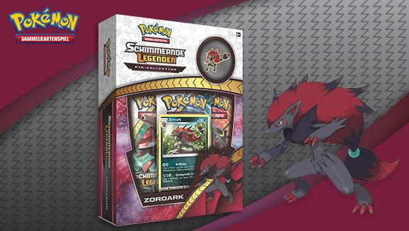 Pin-Kollektion Zoroark der Pokémon-Sammelkartenspiel-Erweiterung <em>Schimmernde Legenden</em>