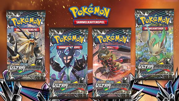 Pokémon-Sammelkartenspiel-Erweiterung <em>Sonne & Mond – Ultra-Prisma</em>
