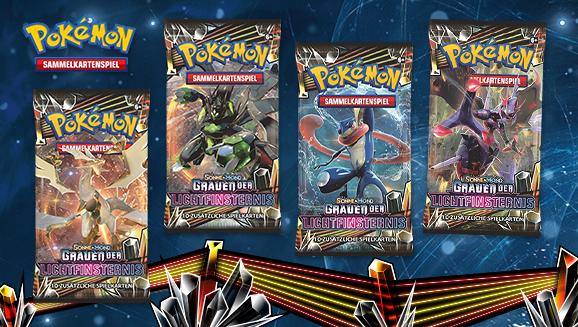 Pokémon-Sammelkartenspiel: <em>Sonne & Mond – Grauen der Lichtfinsternis</em>