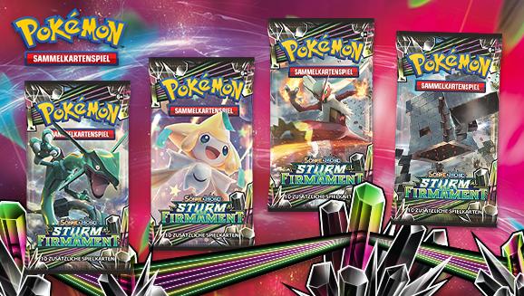 Pokémon-Sammelkartenspiel: <em>Sonne & Mond – Sturm am Firmament</em>