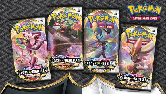Pokémon-Sammelkartenspiel: <em>Schwert & Schild – Clash der Rebellen</em>