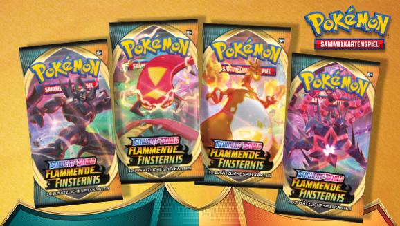 Pokémon-Sammelkartenspiel: <em>Schwert & Schild – Flammende Finsternis</em>